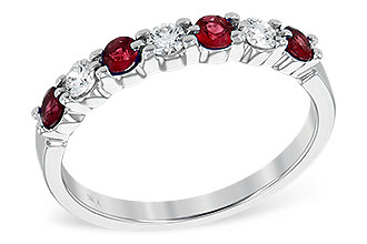 D195-25588: LDS WED RG .35 RUBY .55 TGW