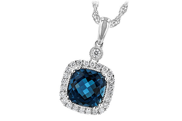 D198-82825: NECK 1.63 LONDON BLUE TOPAZ 1.80 TGW