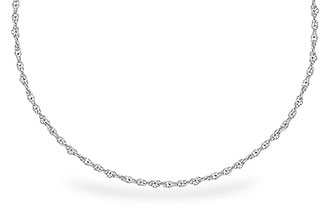 E282-51925: 1.5MM 14KT 18IN GOLD ROPE CHAIN WITH LOBSTER CLASP
