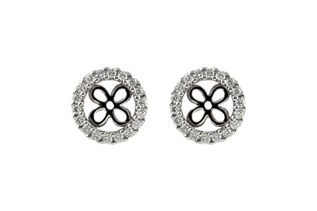 F197-03752: EARRING JACKETS .30 TW (FOR 1.50-2.00 CT TW STUDS)