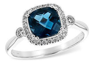 G198-82843: LDS RG 1.62 LONDON BLUE TOPAZ 1.78 TGW