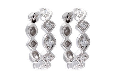 K010-63733: EARRINGS .22 TW