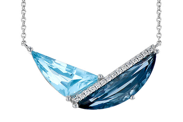 K282-48333: NECK 4.66 BLUE TOPAZ 4.75 TGW