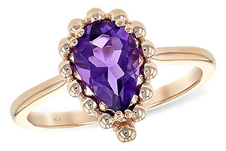 L198-85615: LDS RING 1.06 CT AMETHYST
