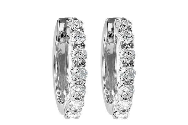M195-21024: EARRINGS 1.00 CT TW