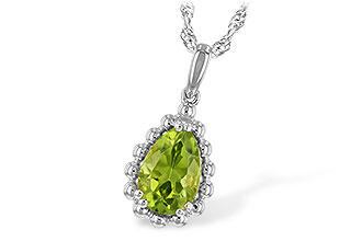 D198-85625: NECKLACE 1.30 CT PERIDOT