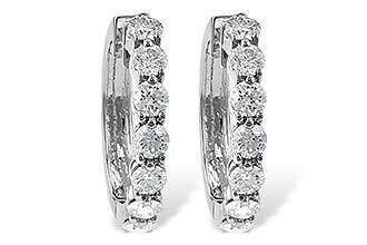 F010-66470: EARRINGS 2 CT TW